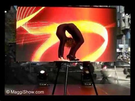extreme contortion act extreme contortion act contortionist magdalena stoilova