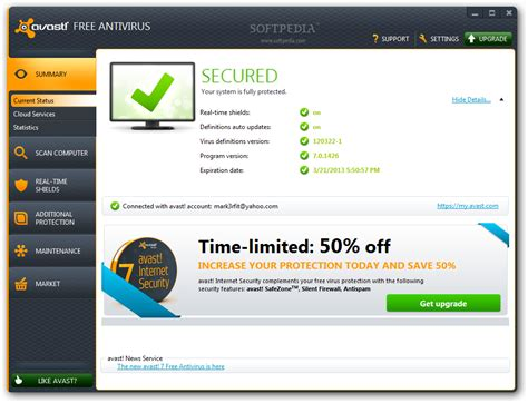 avast antivirus free download windows vista full version avast free antivirus 7 stable