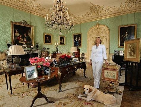how many bedrooms in highclere castle fiona countess of carnarvon at highclere castle in the