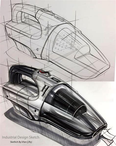 Sketchbook Rendering Tutorial | industrail design sketch marker rendering tutorial on