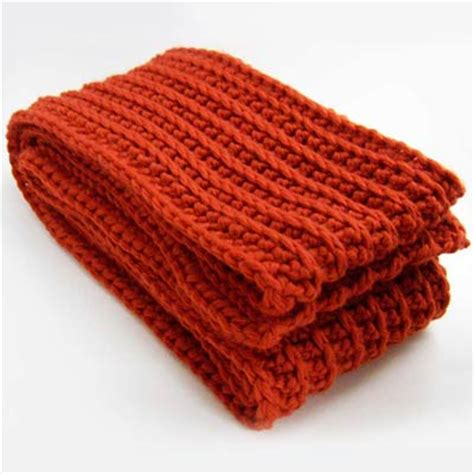 which is better crochet or knitting crochet ribbed scarf it s like knitting only better