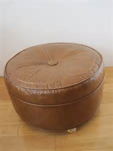 Ottoman Hassock Midcentury Hassock Ottoman Footstool On Casters Modern