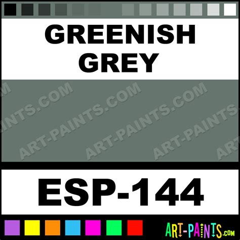 greenish gray paint greenish grey specialist pastel paints esp 144