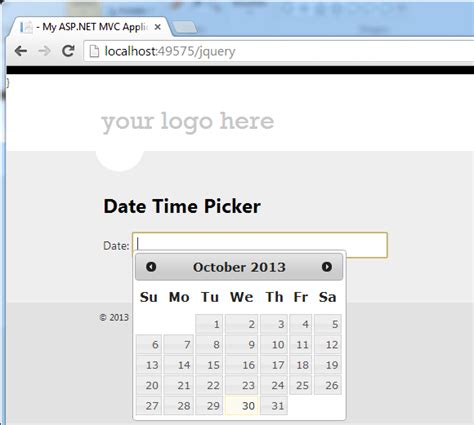 asp net mvc 4 jquery datepicker date format validation asp net mvc 4 jquery datepicker