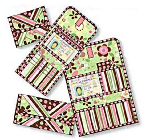 pattern credit card holder petite wallet pattern by pat e patterns in pdf format
