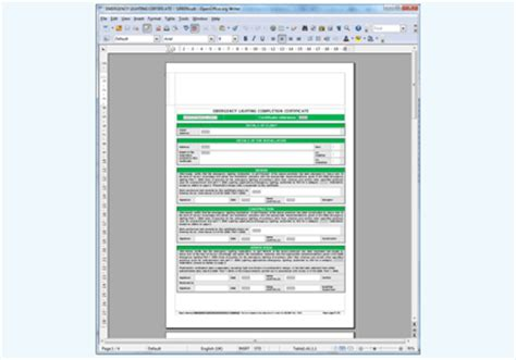 emergency lighting reports downloadable electrical test