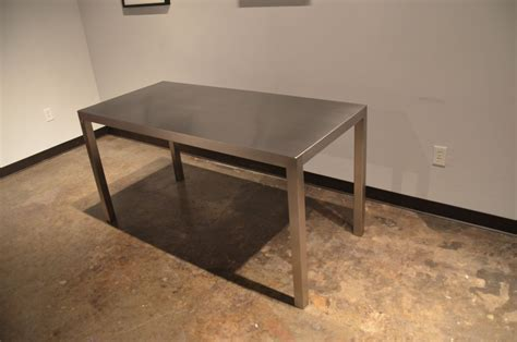 Steel Kitchen Tables Custom Made Seamless Stainless Steel Dining Table By Sarabi Studio Custommade