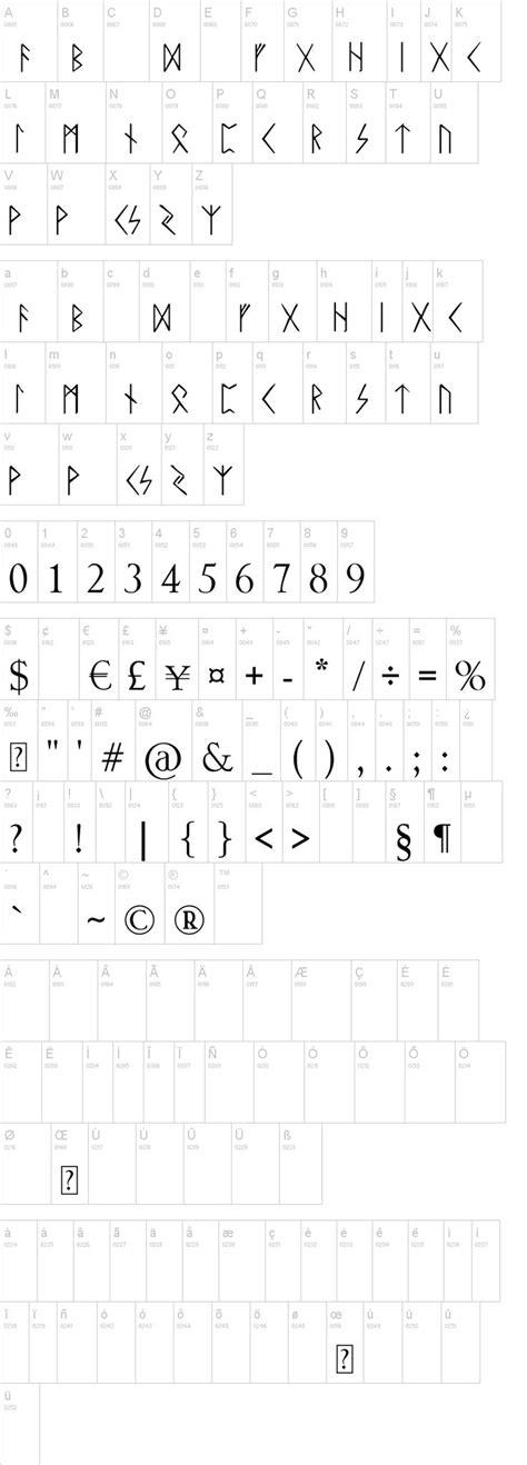 dafont runes 105 best images about tolkien on pinterest
