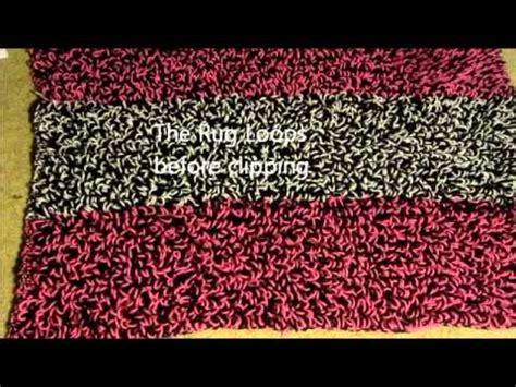 crochet shag rug crochet shag rug tutorial