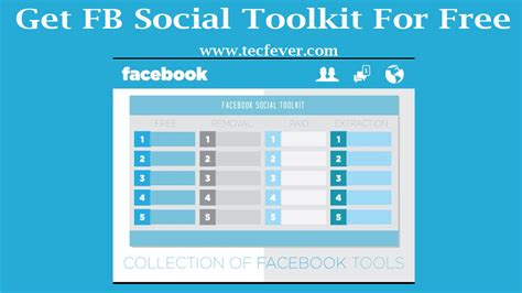 fb toolkit get facebook social toolkit for free tec fever
