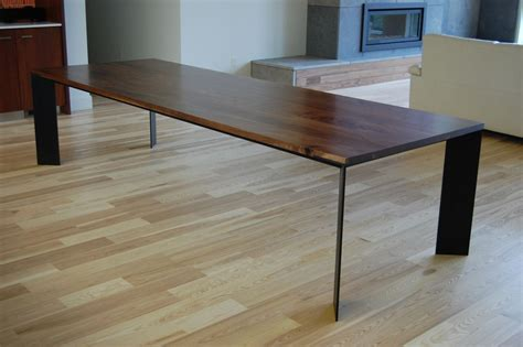 Handmade Furniture Tables - furniture walnut dining table handmade walnut dining table