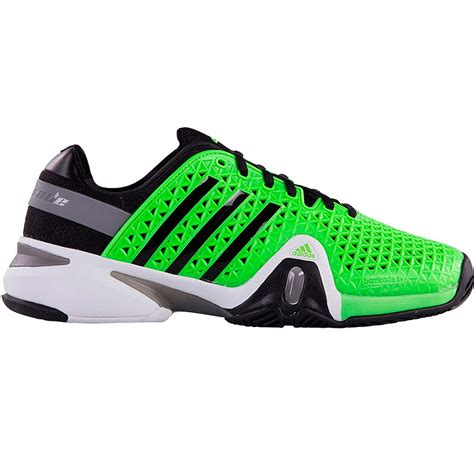 adidas tennis shoes adidas barricade 8 s tennis shoe green black grey