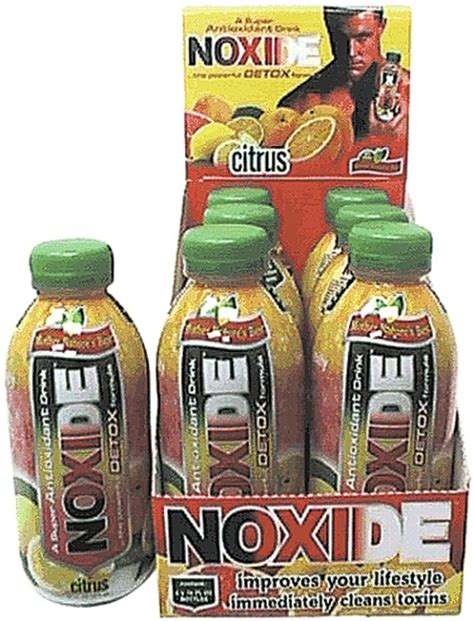 Noxide Detox Drink by Dropship Wholesale Noxide Citrus Detox Drink 16 Fl Oz