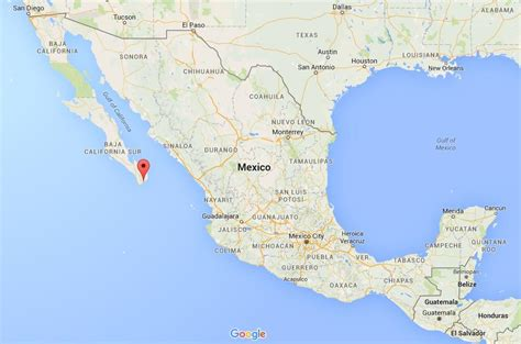 map of mexico cabo where is san jose cabo on map mexico