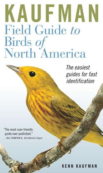 birds kaufman field guides
