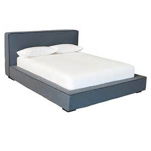 Low Height Bed Frame The Gardiner Solid Wood Modern Bed Frame With Reviews By Gus Modern Home Best Furniture