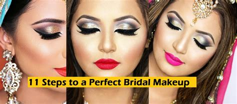 Wedding Makeup Tutorial by 11 Steps To Bridal Wedding Makeup Tutorial