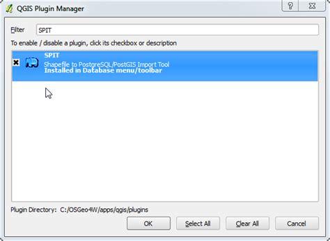 Qgis Spit Tutorial | opensource qgis postgis installation the windows way