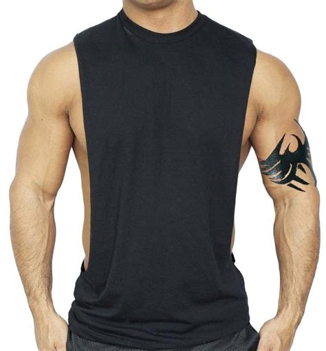 Tshirt Nike Football Buy Side s black workout vest tank top bodybuilding