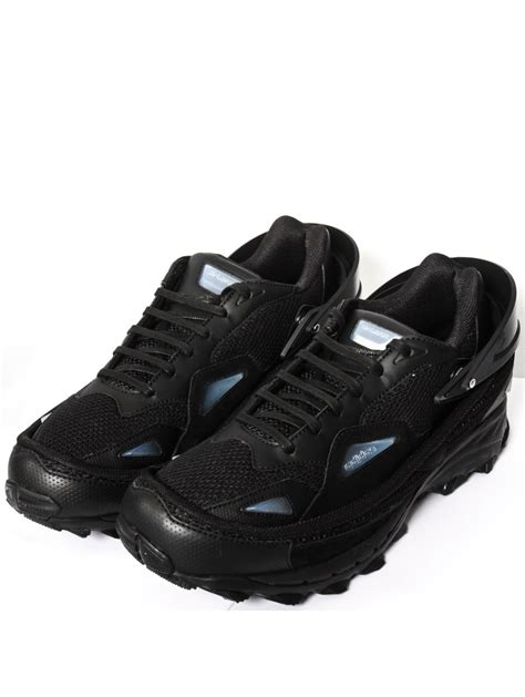 Raf Simons Shoes All Black by Raf Simons Adidas Response Trail Sneakers Black In Black For Lyst