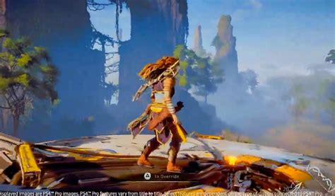 Kaset Ps4 Horizon Zero horizon zero new gameplay demo ps4 pro playstation 4 pro