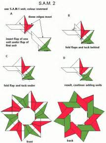 How To Make A Origami Wreath - 264 best images about origami estrellas on