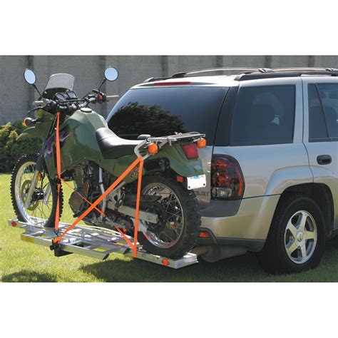 motorcycle carrier building a hitch mounted motorcycle carrier dfw mustangs
