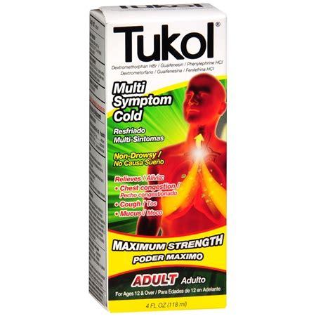 tukol adult multi symptom cold liquid | walgreens
