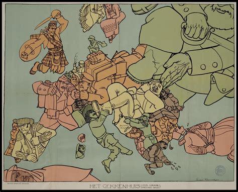 map world at war 12 satirical maps of world war one