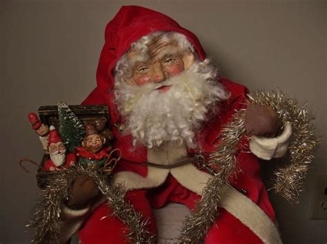 Handcrafted Santa Claus - 10 images about s klaus on folk le