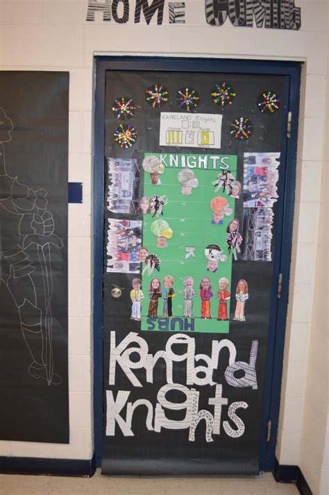 Homecoming Door Decorating Ideas by Kaneland Krier Homecoming Door Decorations