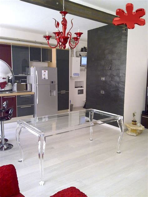 lucite dining set interior design pinterest 13 best images about red acrylic interiors furniture on