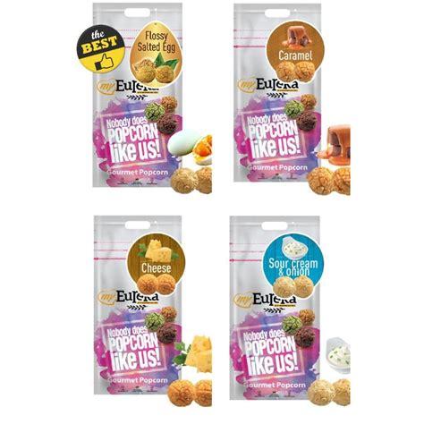 Eureka Pop Corn 1 1 eureka gourmet popcorn snack assorted flavours