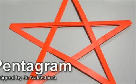 Origami Pentagram - origami pentagram 28 images origami pentagram 28