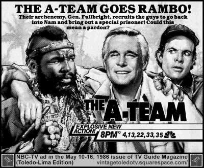 The A Team Tv Series the a team promo for tv series 80 s a team