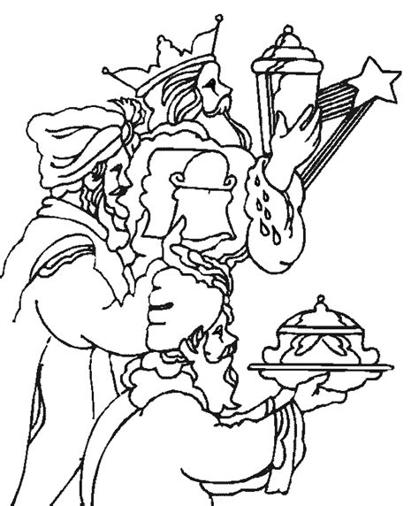three kings coloring pages coloringpages1001 com