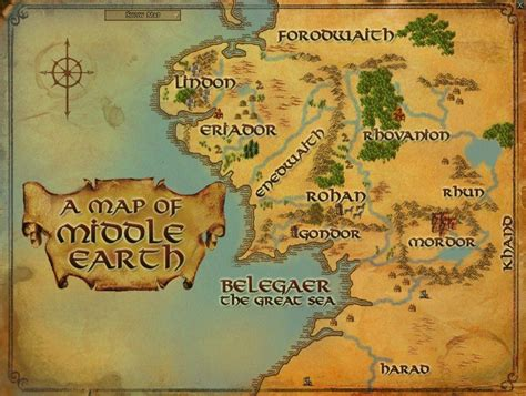 lotr map map of middle earth wallpapers wallpaper cave