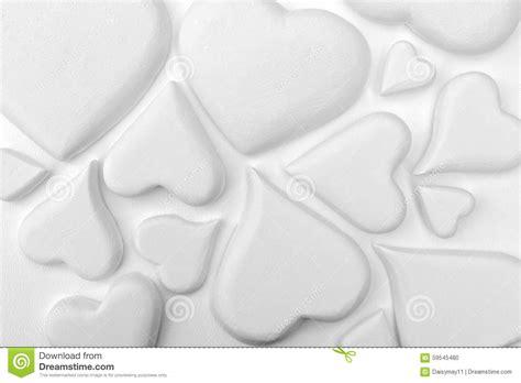 white heart pattern white hearts stock photo image 59545480