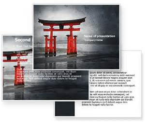 japan powerpoint template ancient japan powerpoint template poweredtemplate