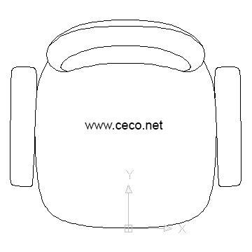 sedia cad woodwork chair plan cad block pdf plans