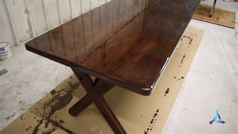 how to finish a bar top how to apply bar top or table top pour on finish epoxy