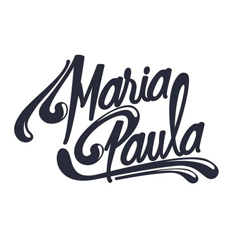 tattoo lettering maria maria paula lettering on behance