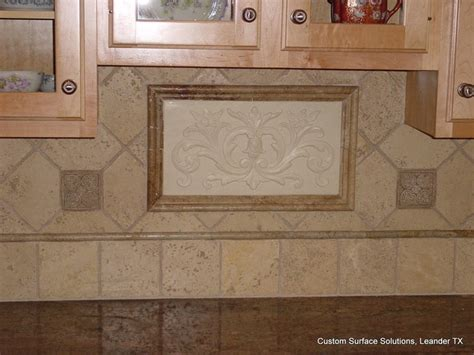 travertine tile kitchen backsplash kitchen granite counter and travertine tile backsplash