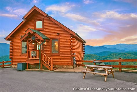 Top Cabins by Wears Valley Cabin Mountain Top View 1 Bedroom