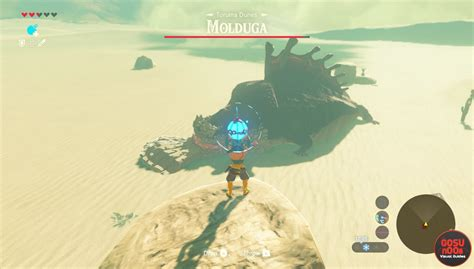 legend of zelda map bosses zelda botw mini boss locations talus stalnox hinox lynex