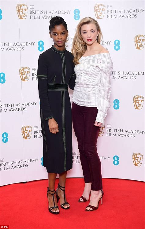 letitia wright tv series is this the most british baftas line up ever daily mail