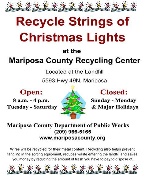 Top 28 Christmas Tree Light Recycling Recycling Tree Light Recycling