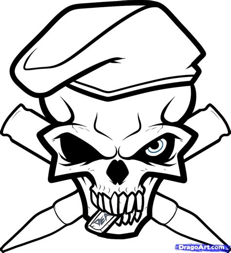 army skull coloring pages army drawing designs how to draw an army skull army