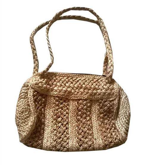 Beautiful Handmade Bags - buy naholi brown jute womens beautiful handmade bag at