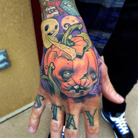 halloween sleeve tattoo designs images designs